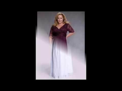 b50222d3de8ba25 Вечерние платья в пол для полных девушек - YouTube
