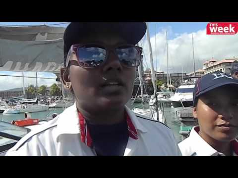 All-woman crew of INSV Mhadei sails to Mauritius