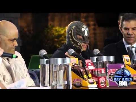 Rey Mysterio Speaks on Perro Aguayo Jr., Leaving WWE, Denies Retirement