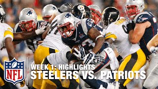 Steelers vs. Patriots | Week 1 Highlights | NFL