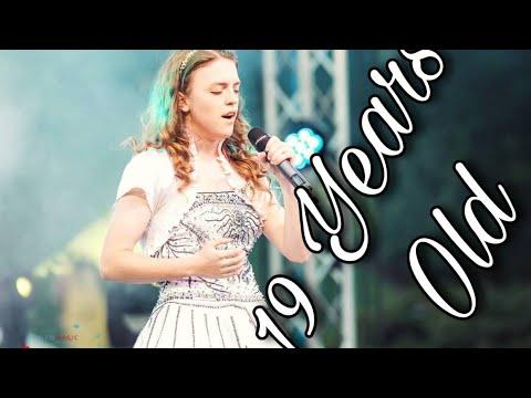 "Nessun dorma (Pavarotti/Amira Willighagen) ~ ""Music for Kids"" (Romania) by 19 year old Anastasia Lee"