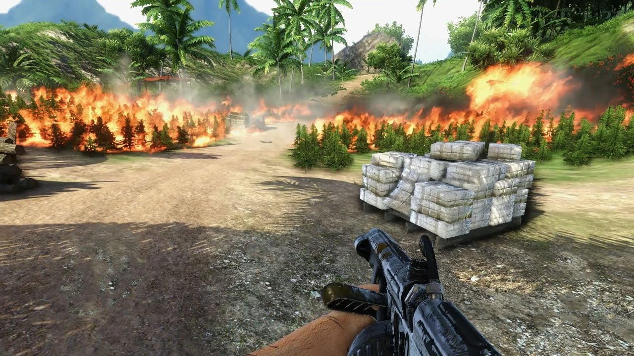 Far Cry 3 Weed Burning Mission 1080p Save Game File Youtube