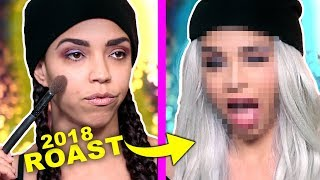 The GREATEST Makeup Tutorial of All Time ROAST (James Charles can bite me)