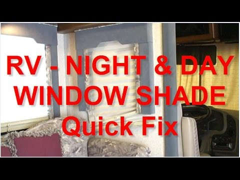 How To Restring Rv Day Amp Night Window Shades Youtube