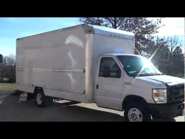 0fbd710617 2009 FORD E350 16FT BOX VAN CUTAWAY FOR SALE SEE WWW SUNSETMILAN COM