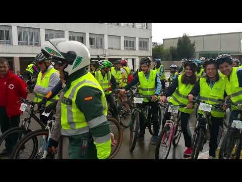 Marcha cicloturística colegio María Inmaculada