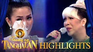 Gambar cover Mariel becomes emotional with the talk about parents | Tawag ng Tanghalan