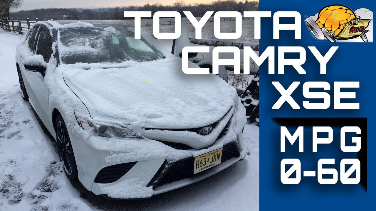 2018 Toyota Camry Xse V6 0 60 Mph Review Highway Mpg Road Test