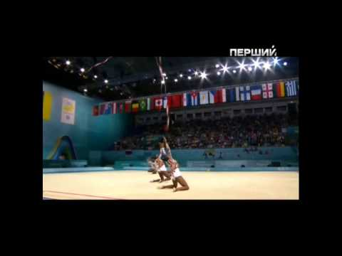 Cuba Senior Group - 3 Balls 2 Ribbons - Prelims - Kiev 2013 Rhythmic World Championships