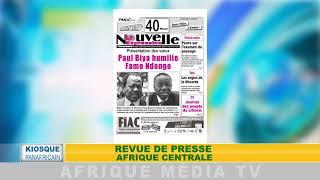 KIOSQUE AFRICAIN REVUE DE PRESSE AFRICAINE DU 05 01 2018