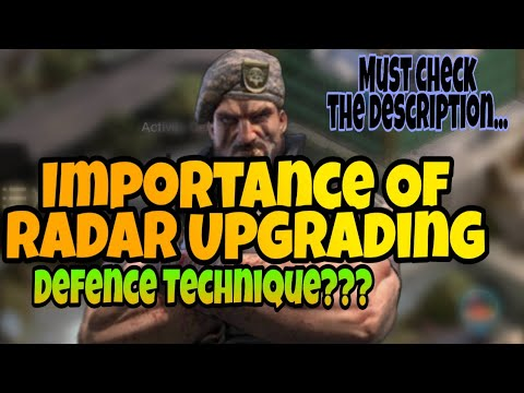 Importance Of Radar Upgrading | Defence Techniques Of Last Empire War Z | Best Strategy Game |