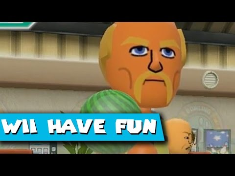 Wii Have Fun #336: Wii Sports Club (Game 20 part 1; Bowling)