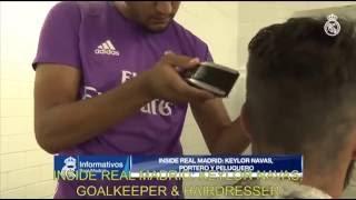 Keylor Navas: Goalkeeper and... hairdresser!