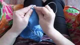 Вязание спицами штанишек на 5-10 месяцев