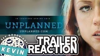 Unplanned | Trailer Reaction