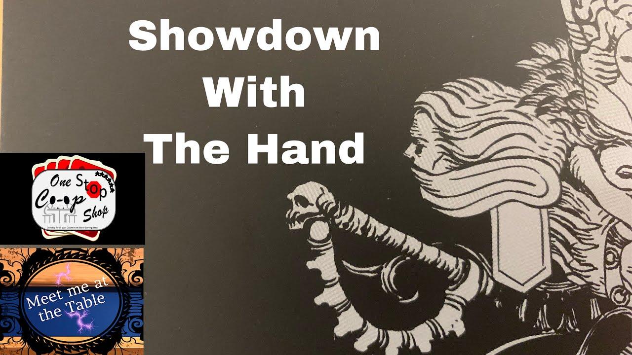 Kingdom Death Nemesis Showdown the Hand with Bairnt