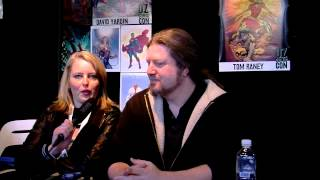 Oz Comic Con Melbourne 2013 Video 7 - MORE Artist Interviews!
