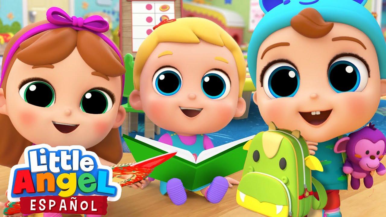 ¡Bebé Juan es muy Feliz en su Escuela! 🏫❤️  | Canciones Infantiles | Little Angel Español