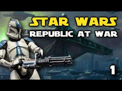 Star Wars: Republic At War - Episode 1 - Kamino Under Attack!