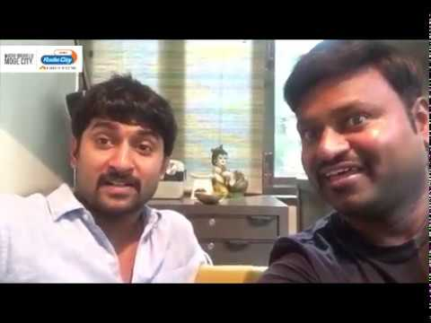 Nani about Krishnarjuna Yudhham with RJ Shiv Radio City hyderabad