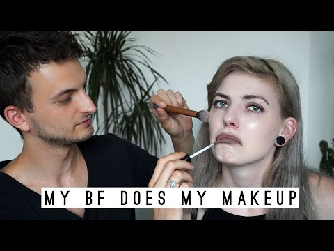 MY BF DOES MY MAKE-UP | 50k celebration