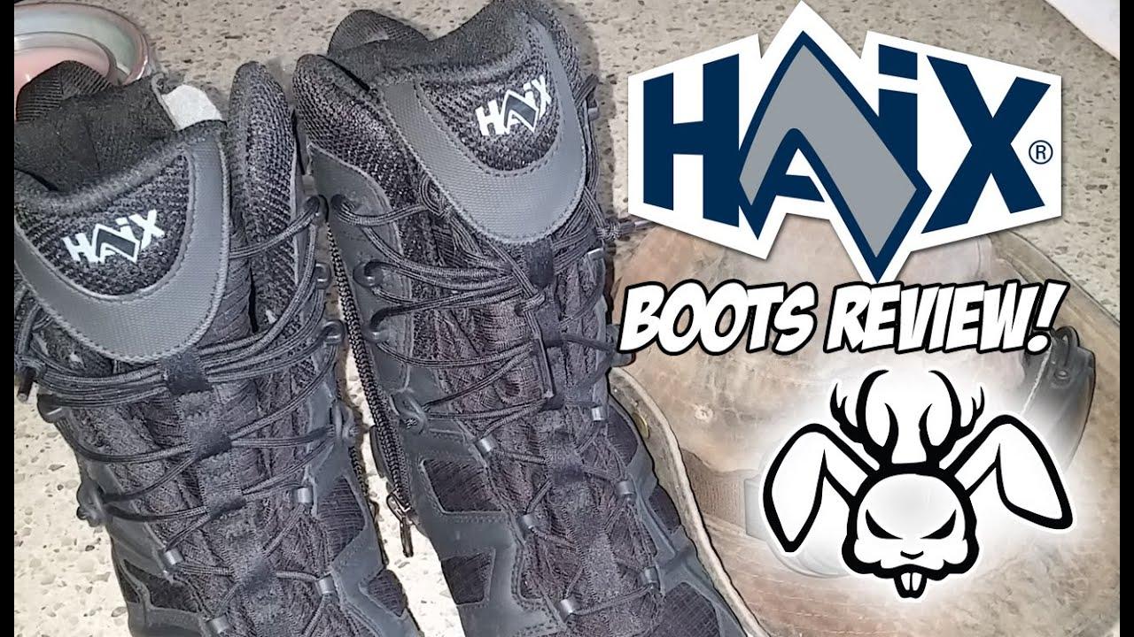 f3984ab31ab HAIX Black Eagle Athletic 11 Boots Review