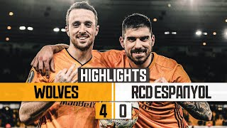 RUBEN NEVES SCREAMER & DIOGO JOTA HAT-TRICK! Wolves 4-0 RCD Espanyol | Highlights