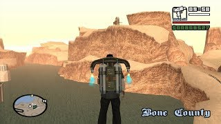 Chain Game 100 mod - GTA San Andreas - Black Project - Airstrip mission 4
