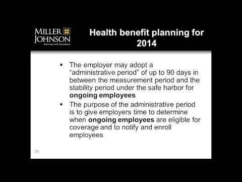 Ballard Webinar - Health Care Reform - Preparing for the 2014 Employer Pay or Play Penalty