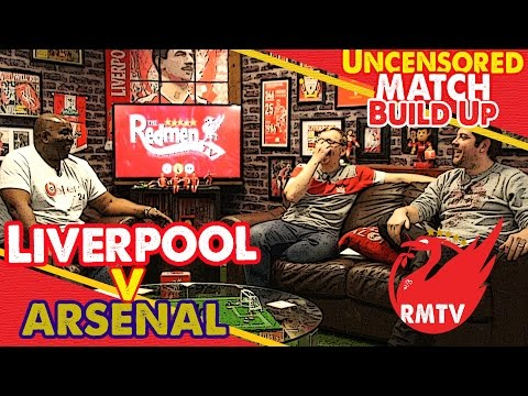 Liverpool v Arsenal | Uncensored Match Build Up Show with Arsenal Fan TV