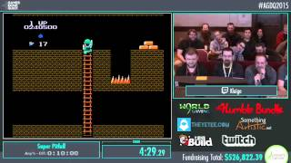 Awesome Games Done Quick 2015 - Part 121 - Super Pitfall by Klaige