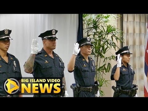 Hawaii County Police 85th Recruit Class (Jun 15, 2017)