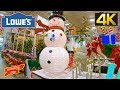 LOWES CHRISTMAS 2018 WOW AMAZING SHOP WITH ME CHRISTMAS TREES ORNAMENTS DECORATIONS SHOPPING