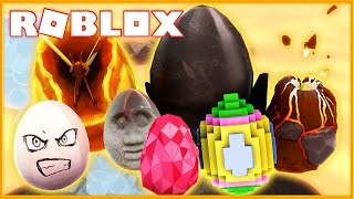 HOW TO FIND ALL THESE RARE SECRET EGGS! (Roblox Egg Hunt 2017)