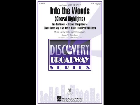 Into The Woods Choral Highlights (SATB) - Arranged by Mark Brymer