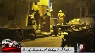 Rangers Operation In Karachi Urdu Baazar Completed 5 terrorists Killed
