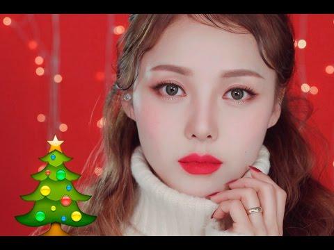 Instagram Makeup – Christmas Makeup (With.subs) 인스타메이크업-크리스마스메이크업