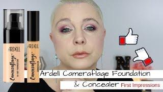 Ardell Cameraflage Hi-Def Foundation & Concealer FIRST IMPRESSIONS