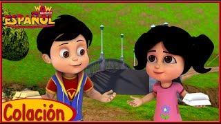 Vir The Robot Boy   Canciones Infantiles   Rimas infantiles famosas para niños   Spanish Songs