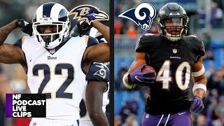 Marcus Peters Traded To Ravens For Kenny Young | What You Need To Know | NF Podcast with Joe Noobo