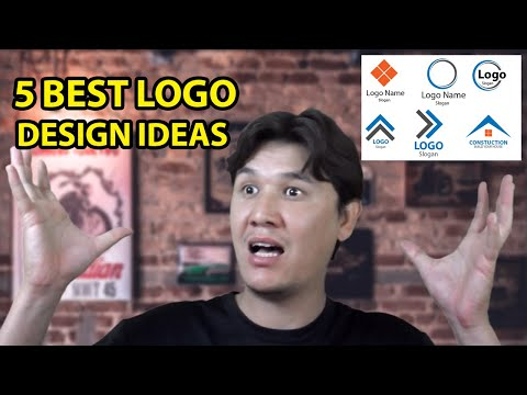 Logo Design Tutorial Illustrator CC Beginners: 5 Best  Logo Design Ideas [Urdu | Hindi] thumbnail