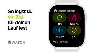 Apple Watch Series 4 - So legst du ein Ziel für deinen Lauf fest - Apple