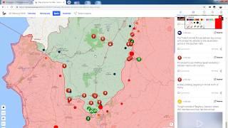 26 февраля 2019. Военная обстановка в Сирии. Удары правительственных сил в Идлибе.