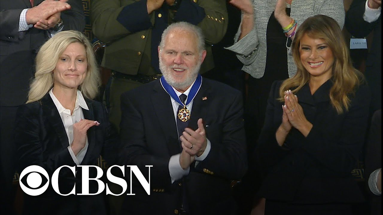 Rush Limbaugh awarded Presidential Medal of Freedom at 2020 State of the Union Address