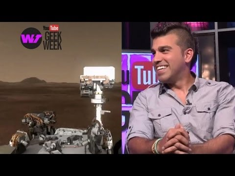 Celebrating Mars Curiosity Rover Anniversary - NASA's Bobak Ferdowsi (GEEK WEEK)