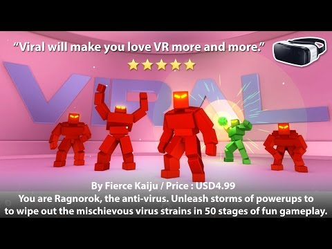 Viral for Gear VR - This game will make you love VR even more.