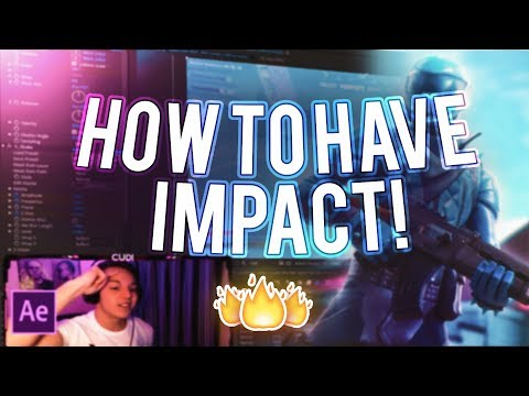 """How To Have """"Impact"""" On Your Montage/Edit! (How To Make A Fortnite Montage #3)"""