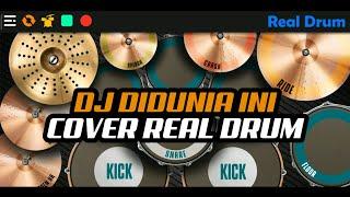 DJ DIDUNIA INI TENANG AJA JANGAN MUNGKIN DIA BUKAN MILIKMU TIK-TOK VIRAL   COVER REAL DRUM
