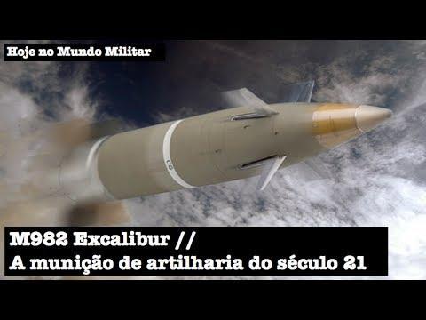 M982 Excalibur, a munição de artilharia do século 21