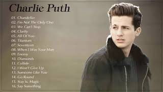 Charlie Puth Greatest Hits Playlist - Best Songs Of Charlie Puth